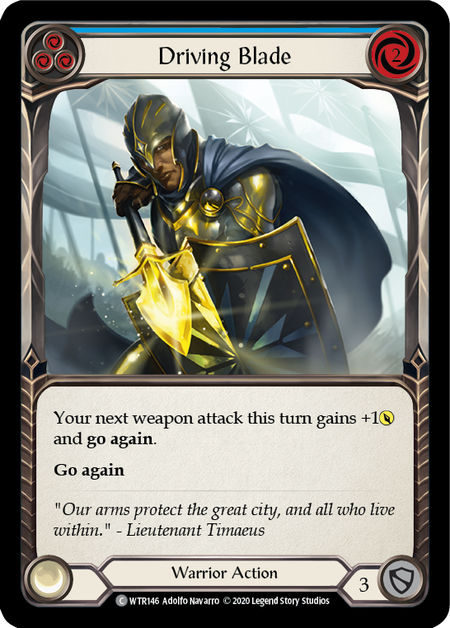 Driving Blade - Unlimited (Rainbow Foil)