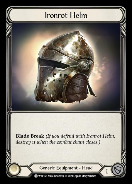 Ironrot Helm - Unlimited (Rainbow Foil)