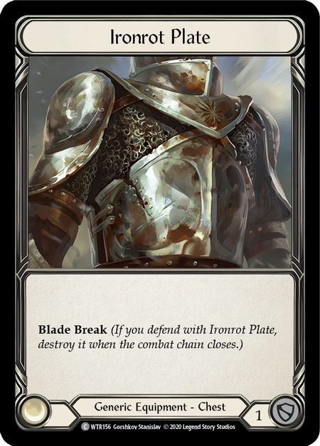 Ironrot Plate - Unlimited (Rainbow Foil)