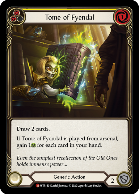 Tome of Fyendal - Unlimited (Rainbow Foil)