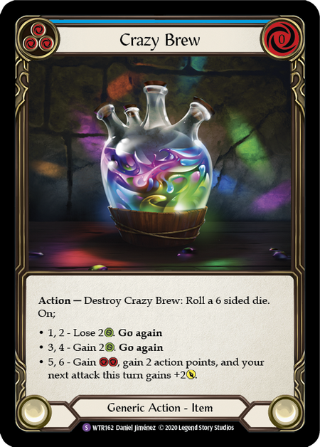 Crazy Brew - Unlimited (Rainbow Foil)