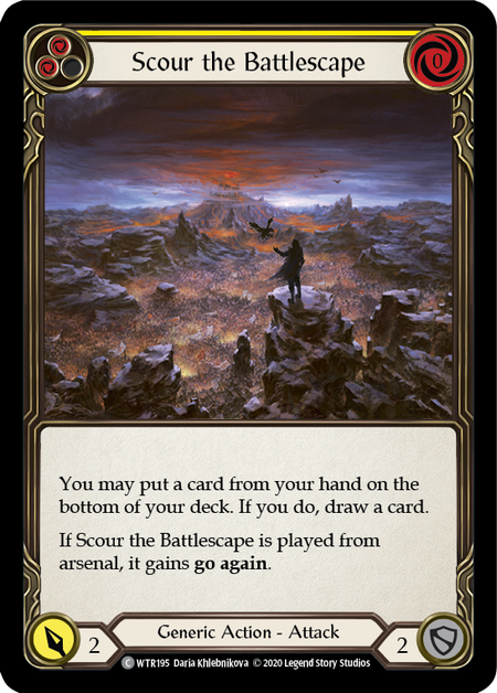 Scour the Battlescape - Unlimited (Rainbow Foil)