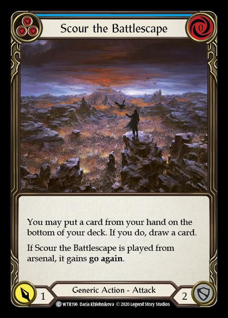 Scour the Battlescape - Unlimited (Rainbow Foil)