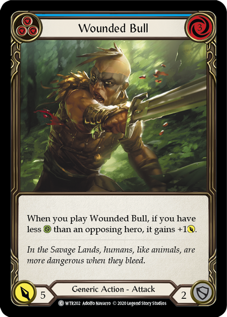 Wounded Bull - Unlimited (Rainbow Foil)