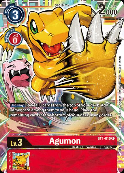 Agumon (Alternate Art)