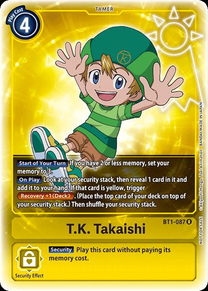 T.K. Takaishi (Alternate Art)
