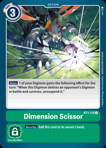 Dimension Scissor