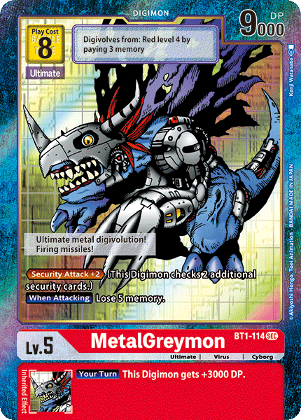 MetalGreymon (Alternate Art)