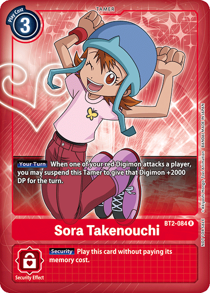 Sora Takenouchi (Alternate Art)