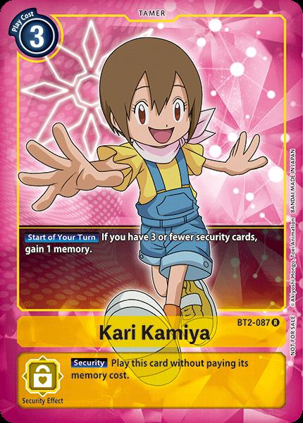 Kari Kamiya (Alternate Art)