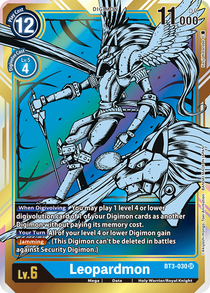 Leopardmon (Alternate Art)