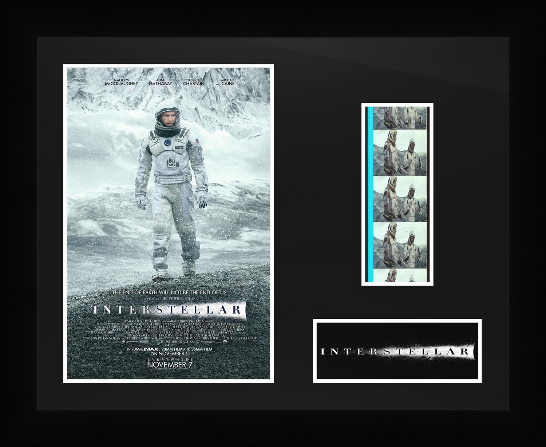 Interstellar - Framed Film Cells