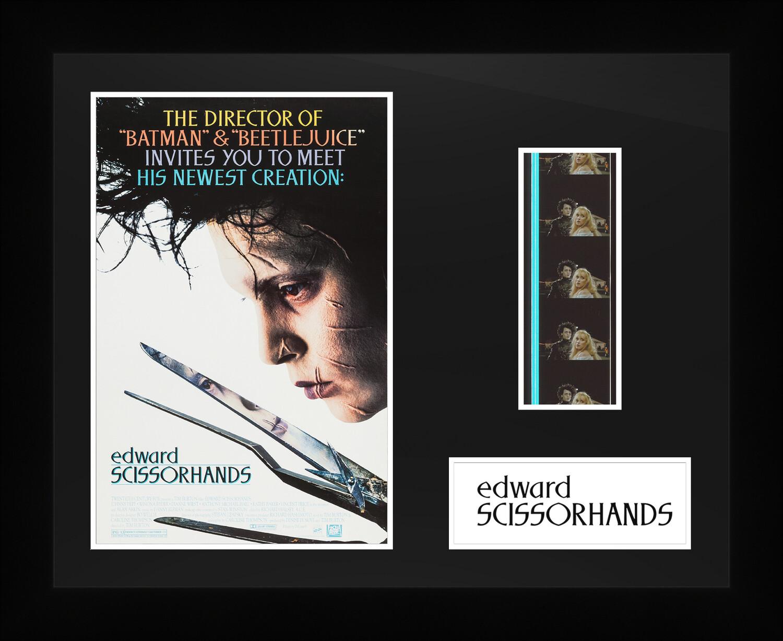 Edward Scissorhands - Framed Film Cells