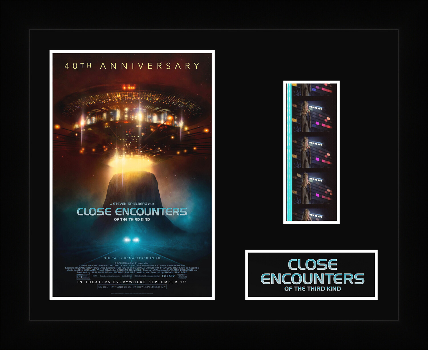 Close Encounters of the Third Kind - Framed Film Cells