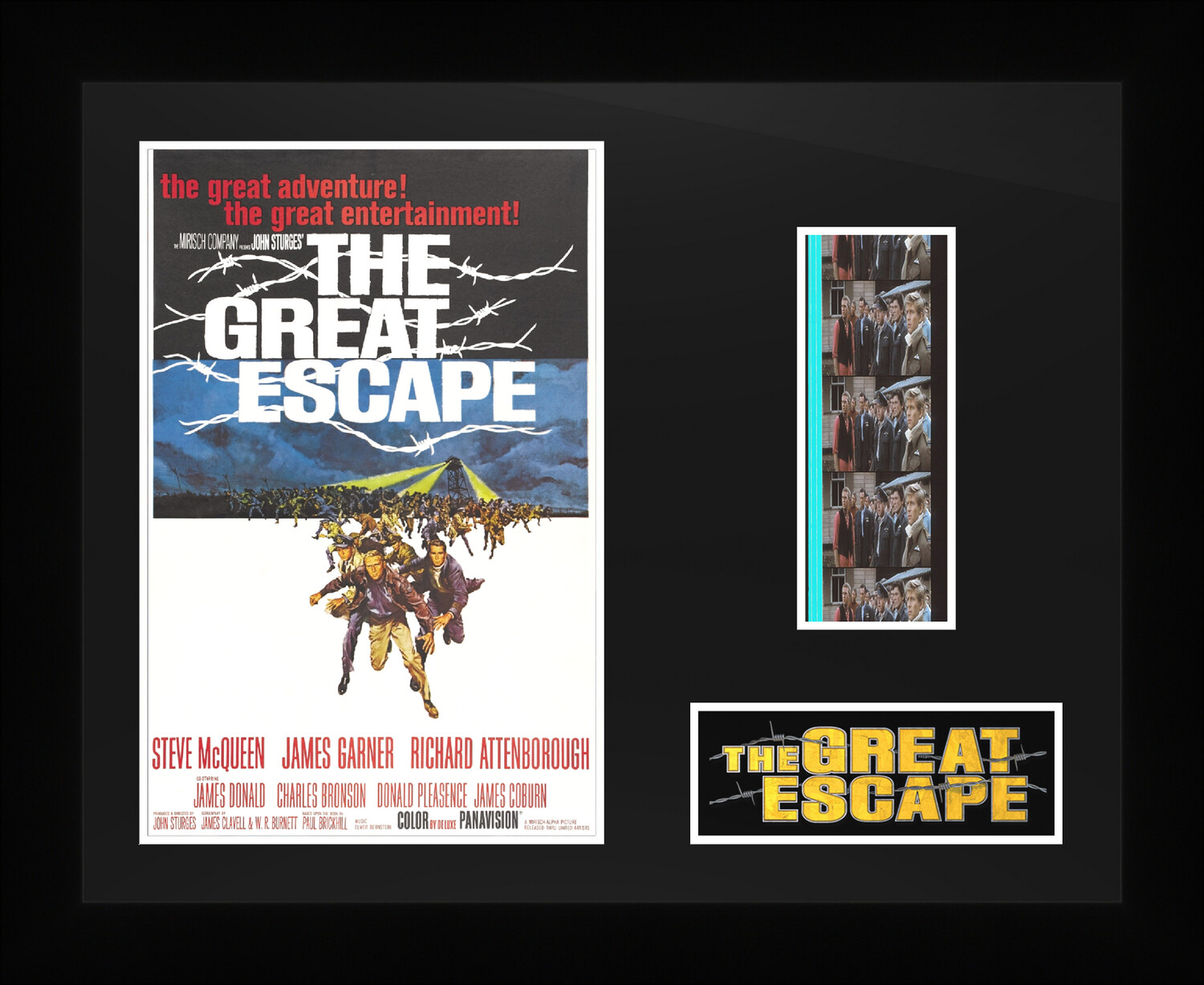 The Great Escape - Framed Film Cells