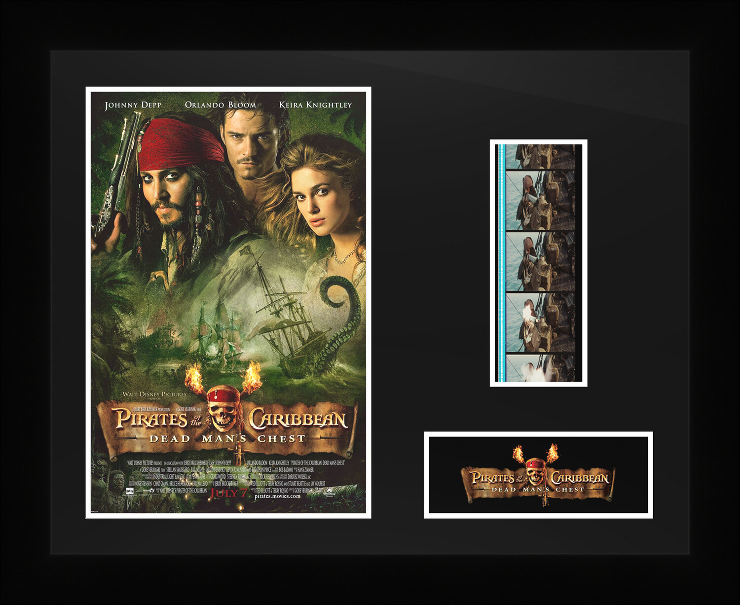 Pirates of the Caribbean : Dead Man's Chest - Framed Film Cells