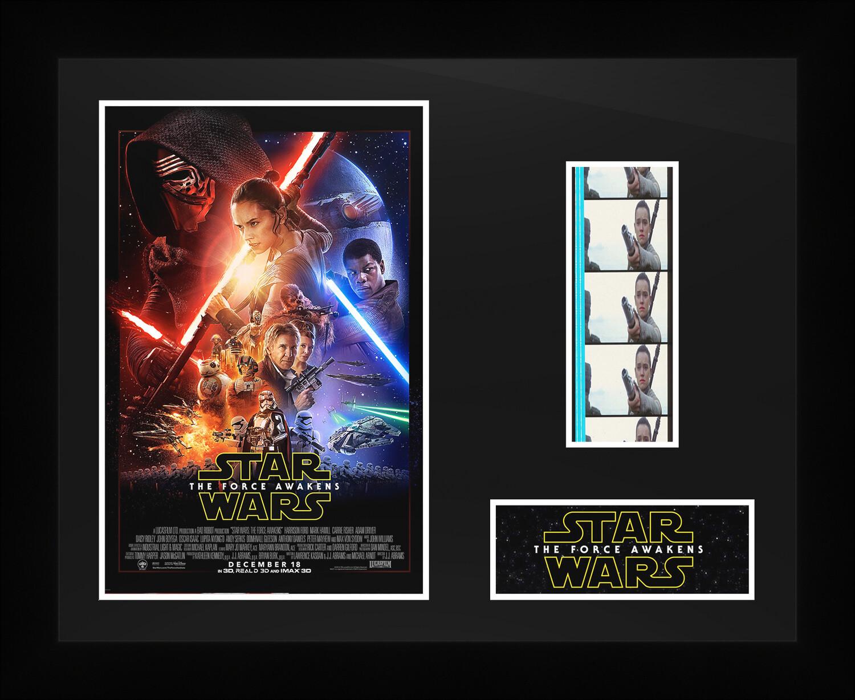Star Wars : The Force Awakens - Framed Film Cells