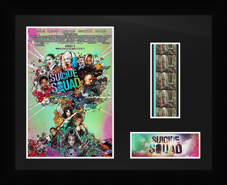 Suicide Squad - Framed Film Cells