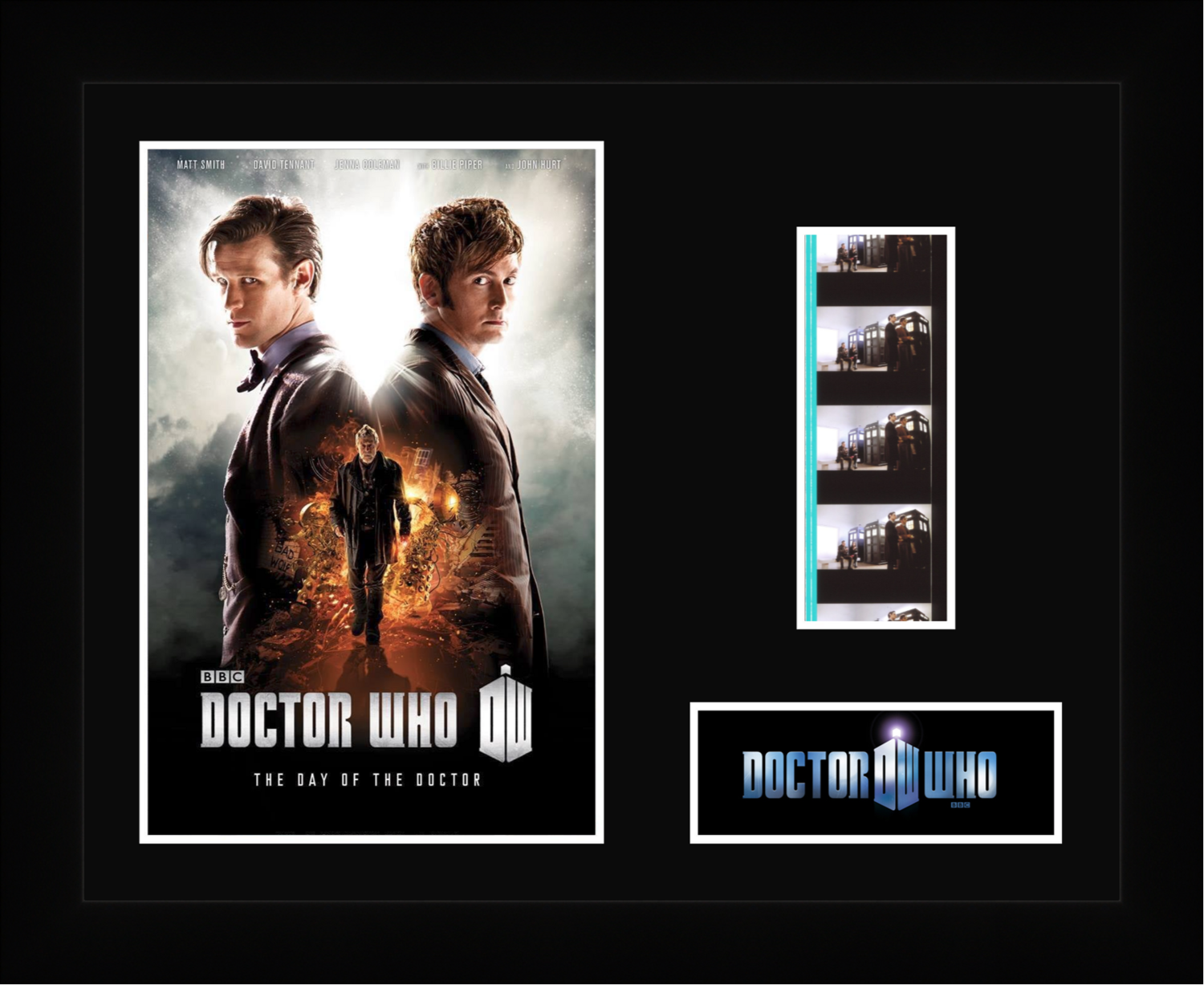 Dr Who : Day of the Doctor - Framed Film Cells