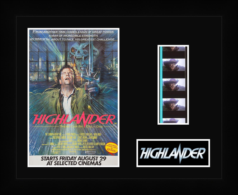 Highlander - Framed Film Cells