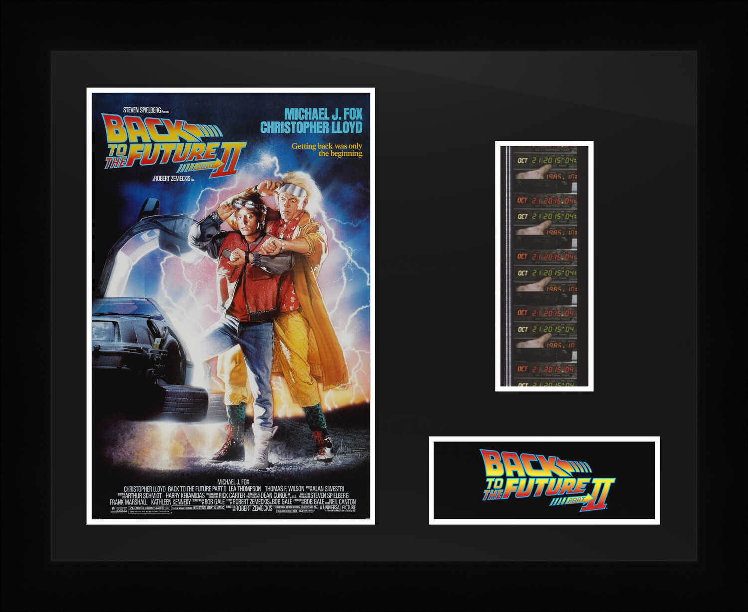 Back to the Future 2 - Framed Film Cells