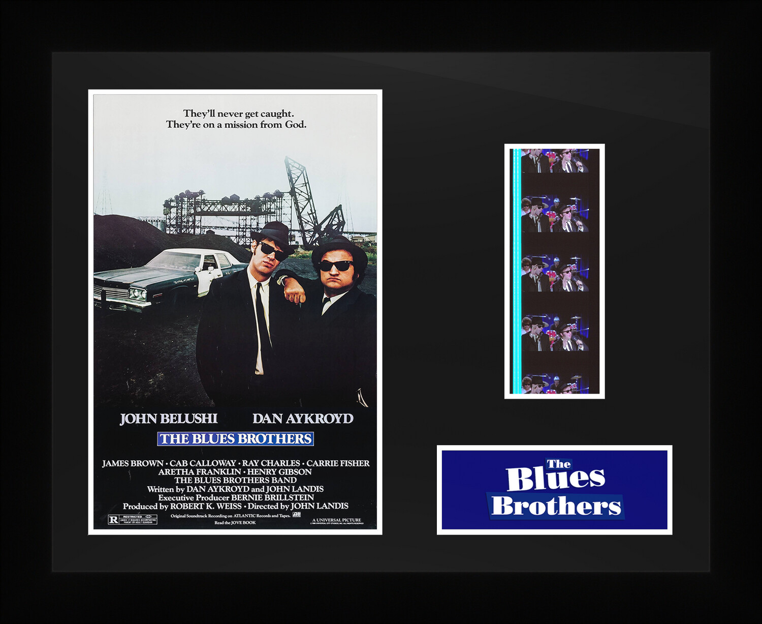 The Blues Brothers - Framed Film Cells