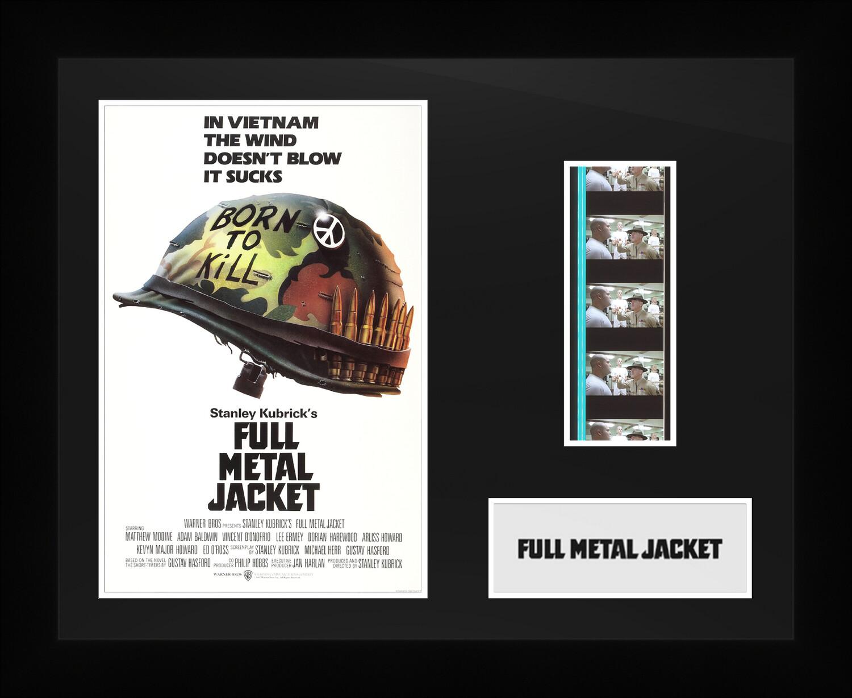 Full Metal Jacket - Framed Film Cells