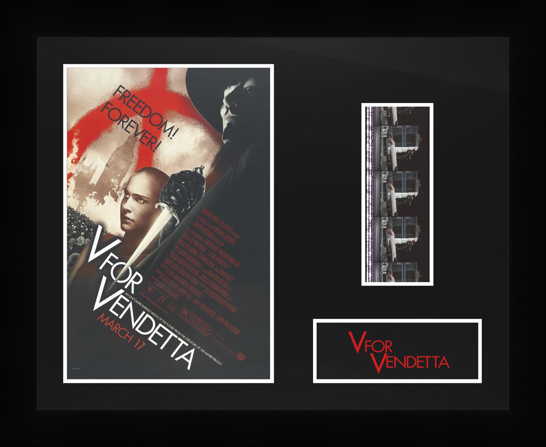 V for Vendetta - Framed Film Cells
