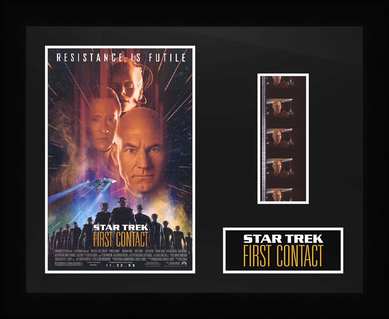 Star Trek : First Contact - Framed Film Cells