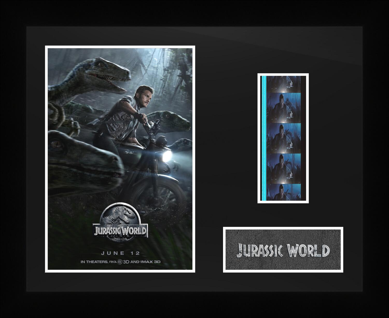 Jurassic World - Framed Film Cells