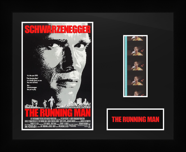 The Running Man - Framed Film Cells