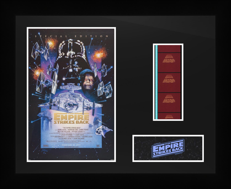 Star Wars : The Empire Strikes Back - Framed Film Cells
