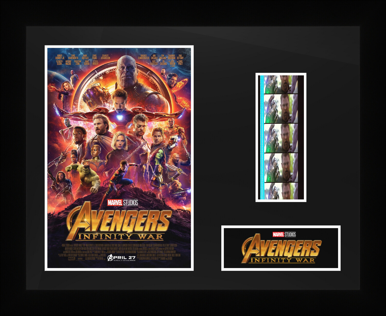 Avengers : Infinity Was - Framed Film Cells