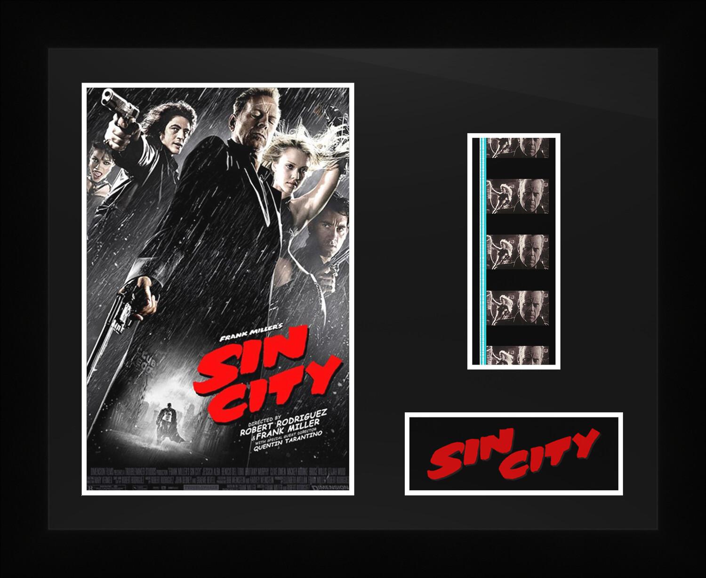 Sin City - Framed Film Cells