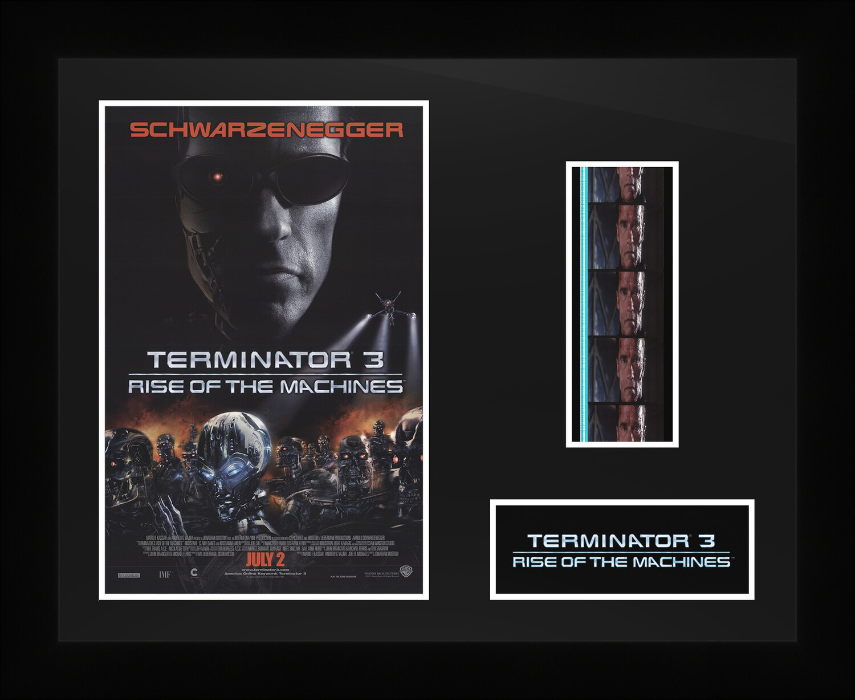 Terminator 3 - Framed Film Cells