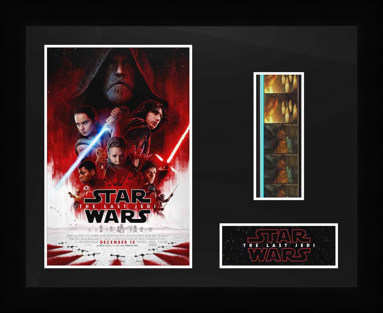 Star Wars : The Last Jedi - Framed Film Cells