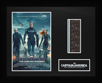 Captain Americe : The Winter Soldier - Framed Film Cells