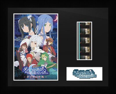 Is it Wrong to Try to Pick Up a Girls from a Dungeon? - Framed Film Cells
