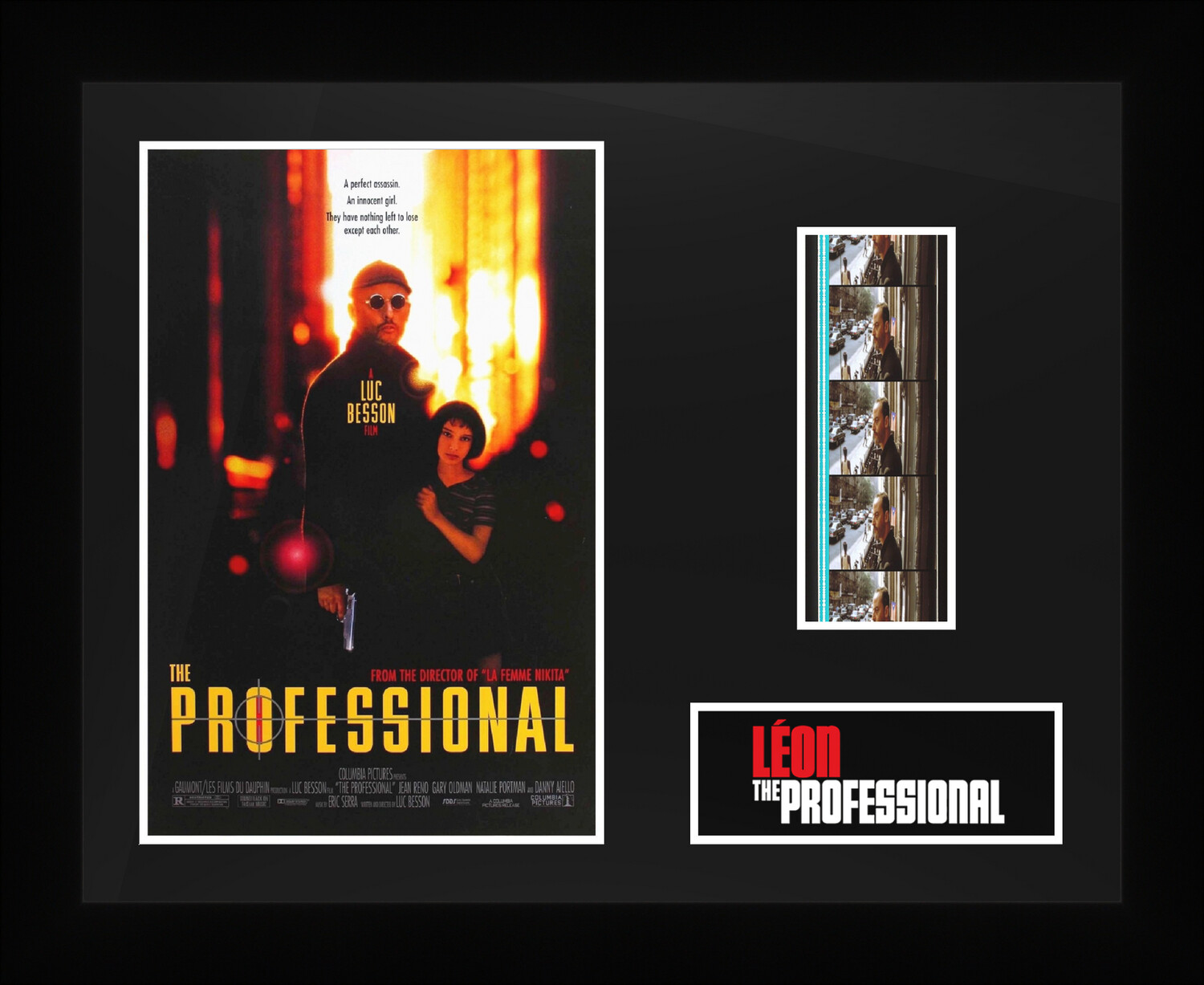 The Professional - Framed Film Cells