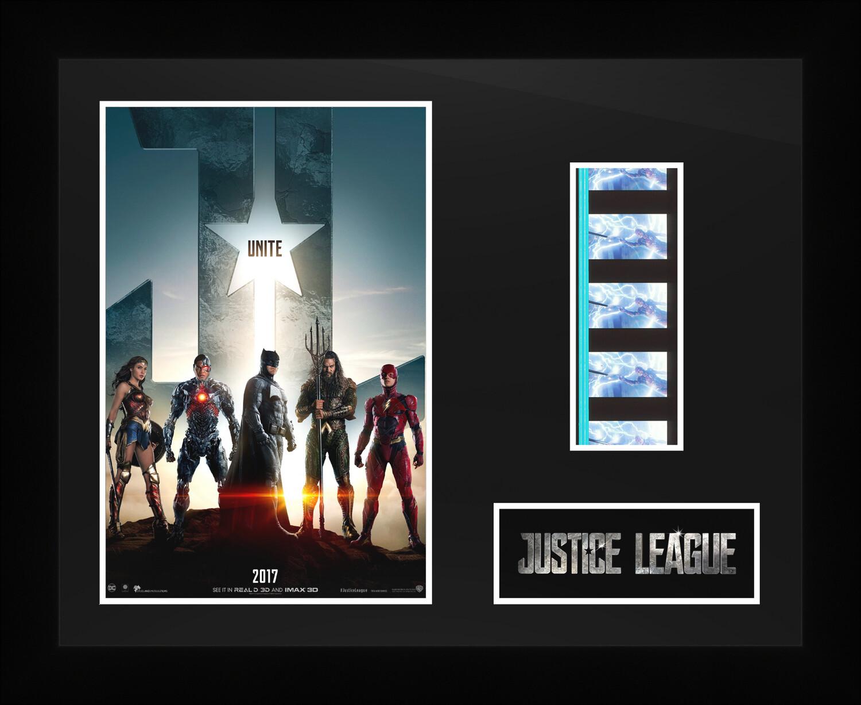 Justice League - Framed Film Cells