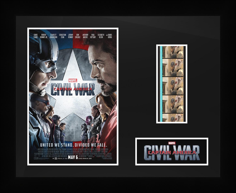 Captain Americe : Civil War - Framed Film Cells