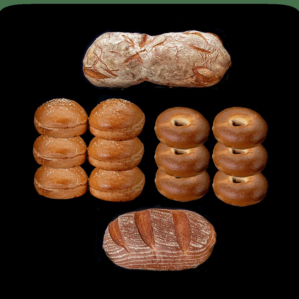 Bagels, Buns & 2 Breads
