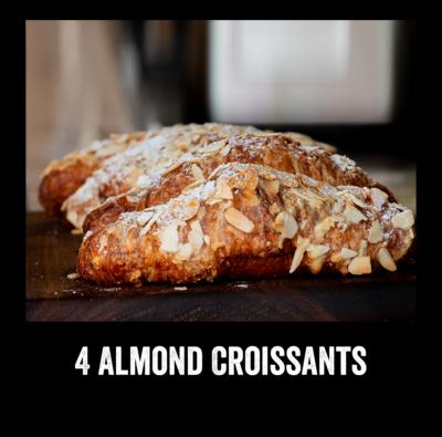 4 Almond Croissant