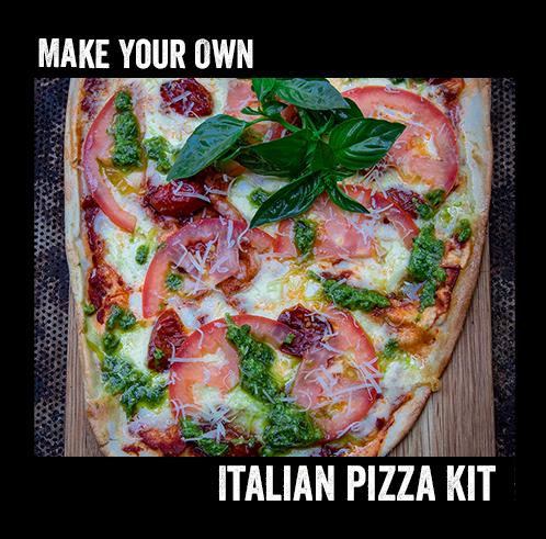 Italian Pizza Kit for 4