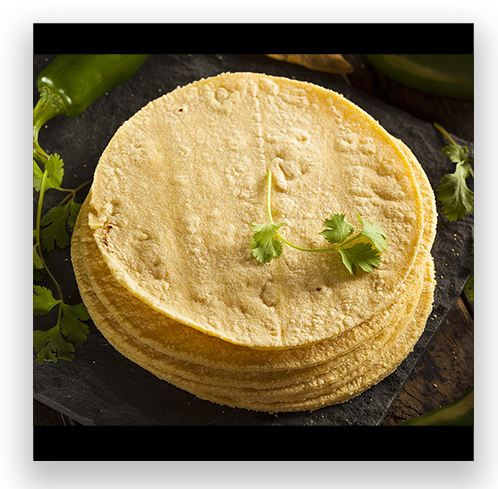 10 Organic Corn Tortillas