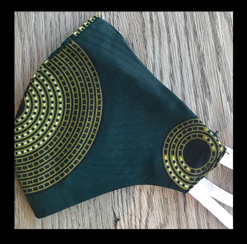 Knead Barista Gabriel's Cloth Face Masks (Green)