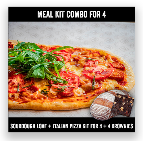 Pizza Meal Combo for 4