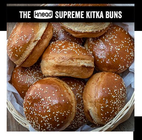 6 Supreme Kitka Burger Buns