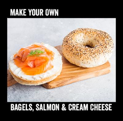 Bagels, Salmon & Cream Cheese