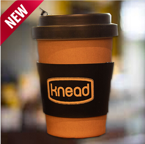 Reusable Knead Cup + Free Coffee voucher